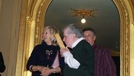 Ramón Chao recibe el Premio María Casares.