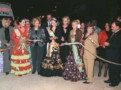 Acto de inauguración de la Feria de Abril en Valencia.