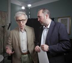 Woody Allen y Natalio Grueso.
