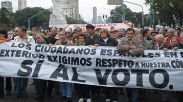Manifestación del pasado 15 de mayo en Buenos Aires.