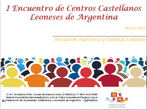 Cartel promocional del Encuentro.