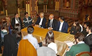 Miranda se reunió con los beneficiarios de las Bolsas en Buenos Aires.