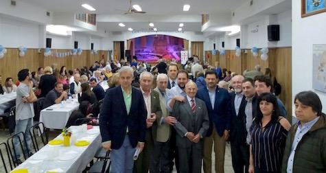 El secretario xeral da Emigración estuvo presente en la celebración del 68º aniversario del Centro Gallego de La Plata.