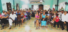 En la Fiesta de San Roque del Club Villarino participaron más de 200 personas.