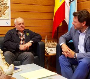 Xosé Filgueira Fernández y Antonio Rodríguez Miranda.
