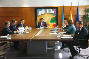 Reunión del Consejo de Gobierno del Principado del miércoles 27 de septiembre.