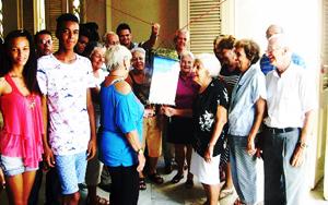 Juventud y experiencia se reunieron en el homenaje a 'Esperancitas y Laureles'.