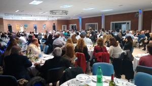 Uno de los encuentros organizados por la Sociedad Española de Trelew.