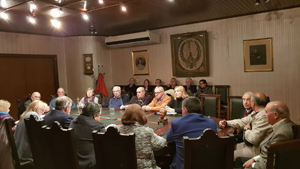 Reunión de la Fieu en Casa de Galicia.