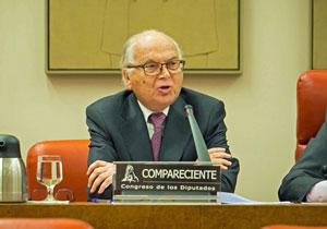 Comparecencia del presidente de la Junta Electoral Central, Carlos Granados.