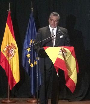 El embajador de España en Venezuela.