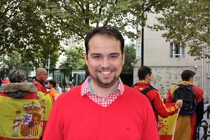 Juan, de Gijón, lleva en París cuatro años.