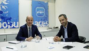 Ramón Moreno y Luis Quiroga.