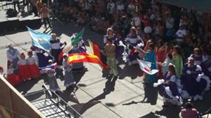 Hubo un desfile para el deleite del público.