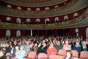 El público disfrutó mucho en el concierto.