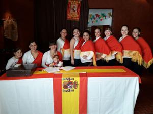 El evento fue apoyado por la directiva de la entidad y por el Viceconsulado Honorario de España en la ciudad.