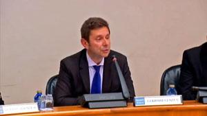 Comparecencia ante el Parlamento gallego del secretario xeral da Presidencia, Manuel Galdo.