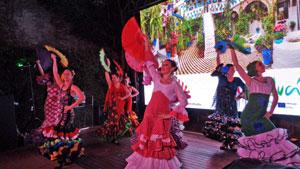 Actuación del ballet Casa de España.