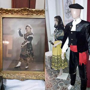 Algunos de los objetos y obras que se exhibieron en el Centro Salamanca.