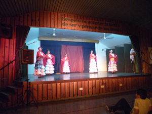 Actuación del grupo 'Sembrando pasiones'.