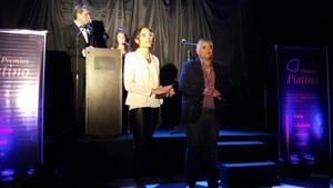 Andrea Toloso recibió el premio emocionada.