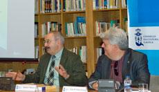 Ramón Villares y Xosé Manuel Núñez Seixas en la presentación.