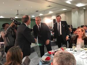 Conde participó en la celebración del décimo aniversario de la Unión Mexicana de Empresarios Gallegos (Umegal).