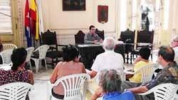 Intervención de Sixto Gómez, coordinador del Obradoiro.