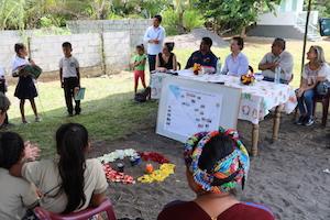 El director xeral de Relacións Exteriores, Jesús Gamallo, visitó en el sur de Guatemala proyectos de Aquitectura Sen Fronteras y Proyde.
