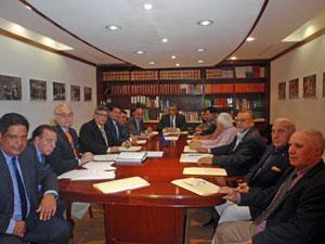 Reunión anual del Consejo de Administración de la Fundación España Salud de Venezuela.