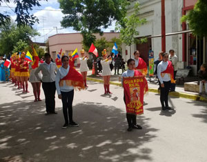 Desfile de la Guardia Real de Tres Arroyos.