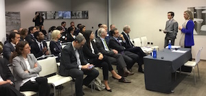 Un momento de la presentación celebrada en Londres.