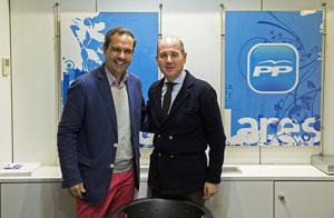 José Antonio Alejandro González y Ramón Moreno.