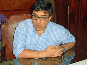 El interventor del Inaes, Martín Moyano Barro.