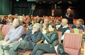 Luego de cada proyección se abrió el debate con el público.