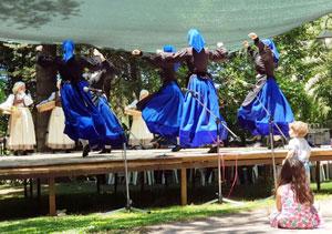 Baile del Centro Asturiano Casa de Asturias.