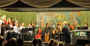 Actuación del Coro Al Andalus