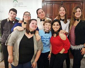 Miembros de la Subcomisión de Jóvenes.