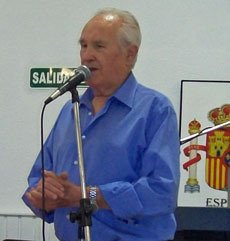 Antonio Reus Tous en un acto de la Federación.