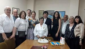 La entidad recibió la visita de la directora general de Transparencia y Participación de la Generalitat Valenciana, Aitana Mas.