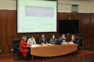 Imagen de la reunión de coordinación con los ayuntamientos de la zona Norte.