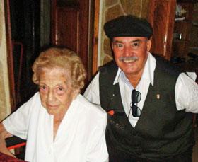 María Úrsula Ducasi López-Dóriga y Reinaldo Rojas.