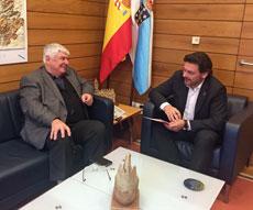 Gumersindo Novoa y Antonio Rodríguez Miranda.