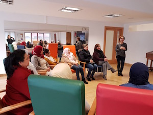 Susana López Abella asistió al cierre del programa que tuvo lugar en Lugo.