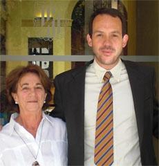 Elisabeth Lantigua y Marc Pons.
