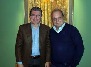 El consejero Francisco Granados se reunió con el ministro de Cultura de la Ciudad de Buenos Aires.