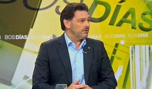 Antonio Rodríguez Miranda en un momento de la entrevista.