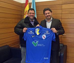 Manolo Muíños y Antonio Rodríguez Miranda.
