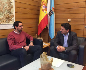 Roberto Fraile y Antonio Rodríguez Miranda.
