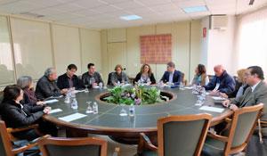 Cristina Valido se reunió con las asociaciones de pensionistas venezolanos.